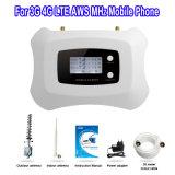 Aumentador de presión móvil elegante de la señal del repetidor 1700MHz de la señal de 3G 4G