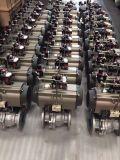 Robinet à tournant sphérique dynamique de gaz standard américain (Q641F)