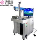 Machine d'inscription de laser de fibre d'Ipg pour la boucle, Plastis, PVC