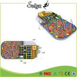 Parque olímpico de la esponja del trampolín de la despedida superventas con obstáculos