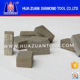 Vervaardiging 2000mm van Huazuan van Quanzhou het Segment van de Diamant voor Scherp Graniet