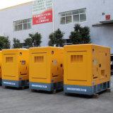 부동산을%s Doosan 엔진을%s 가진 420kw/525kVA 침묵하는 유형 디젤 엔진 Genset