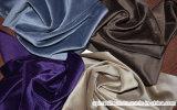 고품질 100%년 폴리에스테 아름다운 우단 커튼 직물 소파 직물