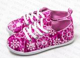 女の子(RF16178)のための2016の熱い販売の子供のズック靴