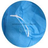 Vestido azul del aislamiento de los PP con los pun¢os elásticos