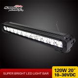 "Convex Lens CREE 20 ""120W Car LED Light Bar hors route"