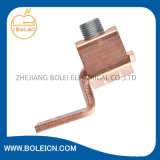 Copper rojo Earth Connector Straight /Bend Connector para Earthing System