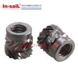 Noix moletée de garniture intérieure d'acier inoxydable de fournisseur de dispositif de fixation de la Chine pour STB