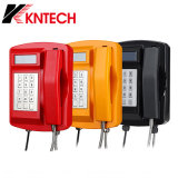 Kntechの相互通信方式の防水電話は、無線緊急の電話Knsp-18屋外の産業電話を防水する