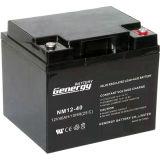 batterie 12V40ah d'acide de plomb pour solaire