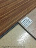 Matériau de construction en bois de protection de l'environnement de plancher de vinyle de PVC