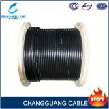 Doppio cavo elettrico di singolo modo ADSS del rivestimento 24core (portata: 200m)