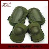 Stootkussens van de Elleboog van de Knie van de Reeksen van de Stootkussens van Airsoft de Beschermende Tactische voor Spel Paintball