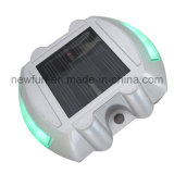 LED-reflektierender Aluminiumkatzenauge-Solarstraßen-Stift