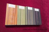 Profils enduits de poudre en bois des graines de qualité pour les portes en aluminium et le Windows
