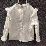 Il commercio all'ingrosso 100% di Guangzhou ha lavato il tessuto di tela della camicia dell'indumento di sguardo del cotone