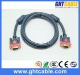 Mannelijke/Mannelijke VGA Kabel van uitstekende kwaliteit 3+4, 3+6 voor Monitor/Projetor (D001)