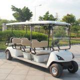 Chariot électrique lourd de navette de golf de 8 personnes avec du CE (DG-C6+2)