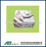 Rectángulo de tarjeta de papel del triángulo para el caramelo