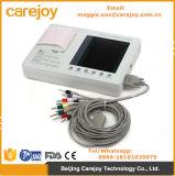 رخيصة سعر 3 قناة 12 رصيص يستريح [إكغ] آلة جهاز تخطيط قلب تخطيط قلب 7 بوصة [إكغ] [فكتور-مغّي]