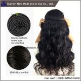 Weave brasileiro do cabelo do Virgin da extensão do cabelo humano