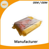 chiffon humide fait à l'usine de Hand&Mouth de catégorie comestible d'OEM 30PCS pour le bébé
