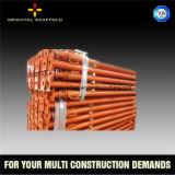 Apoyo del metal del andamio de la construcción