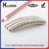 Magneet van het Neodymium van het Segment van de boog de Permanente voor de Turbines van de Motor of van de Wind