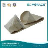 Materiale acrilico non tessuto del filtro a sacco di filtrazione della polvere