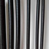 O PVC revestiu Squarelock/canalização flexível de aço do bloqueio