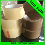 Heißes Selling 48mm*66m Brown BOPP Packing Carton Sealing Clear Tape