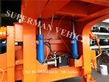Reboque hidráulico da bolsa a ar Lowdeck/Lowbed/Lowplatform do caminhão pesado Semi com o eixo 3