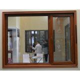 [كز208] ألومنيوم مركّب خشبيّة داخليّ ميل & دورة نافذة