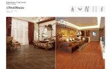 Azulejo de suelo de madera esmaltado de la porcelana con ISO9001