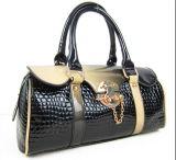 Canvas alla moda Ladies Handbag con l'unità di elaborazione Leather