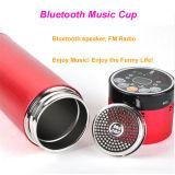comida campestre del deporte al aire libre del recorrido 400-500ml que va de excursión la taza elegante de la música de Bluetooth del vacío inoxidable