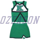 2015 Hot Sell Cheerleading Sublimation Uniform, Girl Dress School Cheerleader