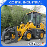 China Small Mini 0.8 Ton Vorderseite Loader für Sale