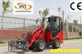 MowerのHaiqin BrandのセリウムMini Wheel Loader (HQ908)