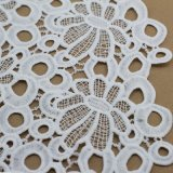 Telas hechas punto ganchillo del cordón del algodón para la ropa y las ropas
