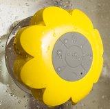 Altavoz sano impermeable de Bluetooth de la succión del cuarto de baño sin hilos de la flor