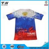 Volles Drucken-trockenes Sitz-T-Shirt der kundenspezifischen Männer