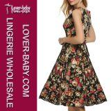 Оптовые безрукавный платье женщины и одежды (L36107-1)