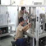Palomitas automáticas que pesan la máquina de relleno del envasado de alimentos del lacre