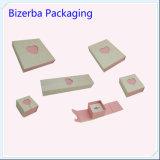 Коробка Jewellery Cream оптовой продажи коробки ювелирных изделий серьги цвета складная