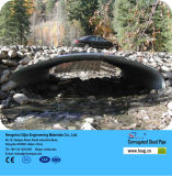 Сваренные Technique и Round Section Shape Aashto M36 Corrugate Steel Pipe для Road Culvert