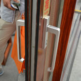 [كز247] [هيغقوليتي] مسحوق يكسى حراريّة كسر ألومنيوم قطاع جانبيّ إطار مصعد & [سليد دوور] مع مصراع ضمن زجاج