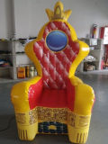 2016 Hot Sale Inflatable Party Chair, Princesse gonflable pour la publicité