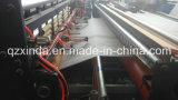 Máquina de proceso perforada de grabación en relieve automática llena del rodillo de tocador del tejido el rebobinar