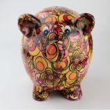 Neuf côté de pièce de monnaie animal exquis d'image de modèle en céramique